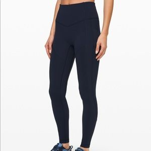 "Lululemon All the Right Places ii 28"" Navy"